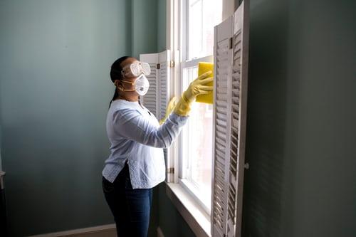 lavage des vitres par un professionnel